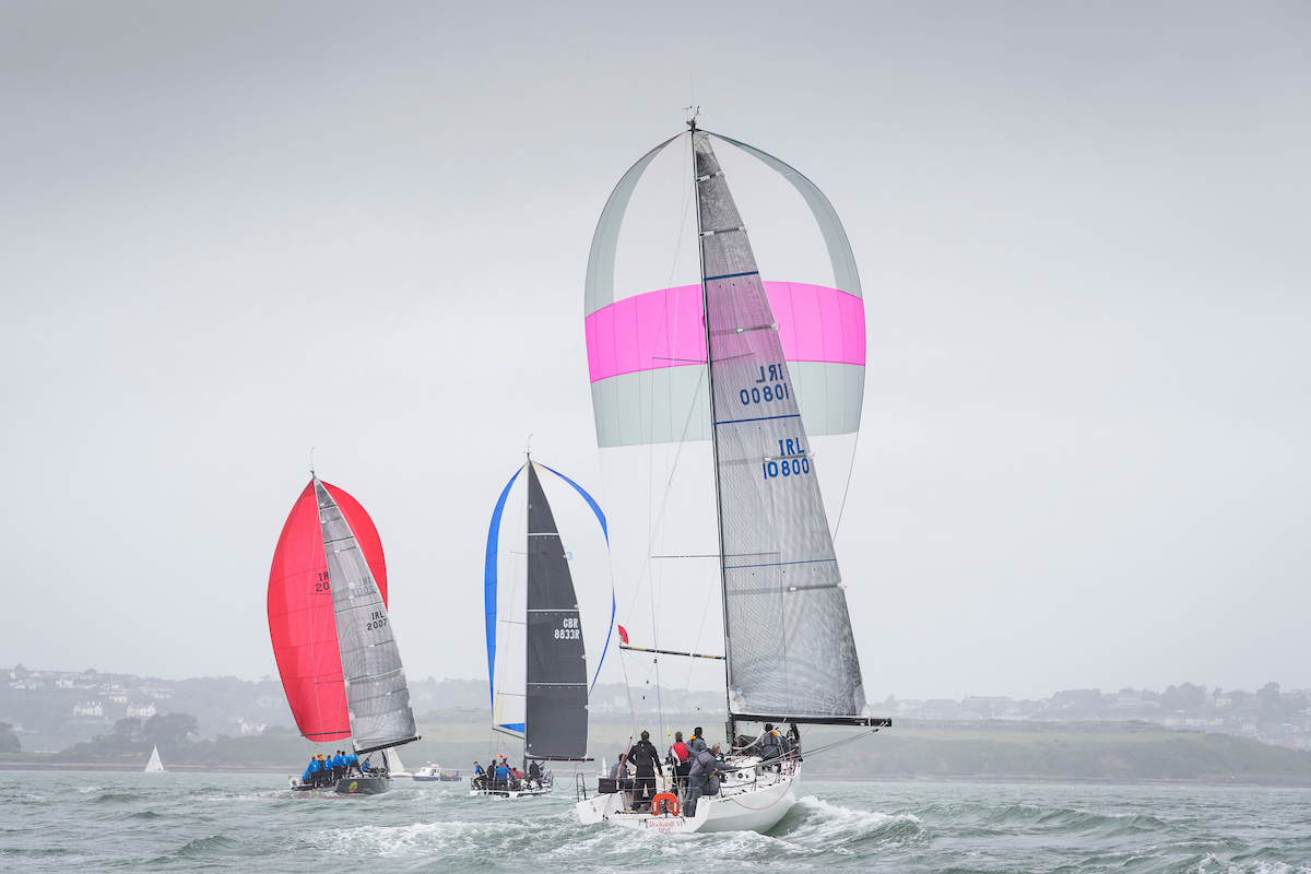 Cork Harbour delivers full schedule despite Near Gale for Day 2 of ICRA Nationals 2017