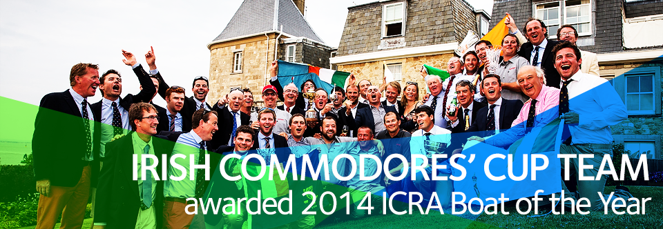 Irish Commodores' Cup Team Awarded ICRA Boat of the Year