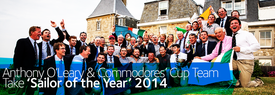 Anthony O'Leary & Commodore's Cup Team Take 'Sailor of the Year' Accolade